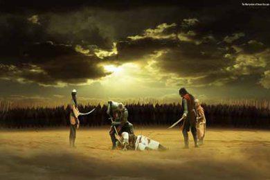Peristiwa memilukan yang terjadi di karbala, yaitu terbunuhnya sayidina Husain