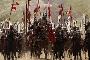 Ilustrasi perang pada era Rasulullah