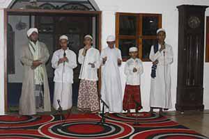 Acara pembacaan maulid nabi di Majsjid Jami' Sidogiri, Pondok Pesantren Sidogiri