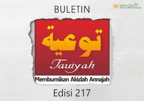 Buletin Tauiyah Edisi 217 (Dzul Qadah 1440 H)