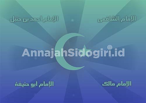 Ahlussunnah wal Jamaah dalam bermazhab di bidang ilmu fikih