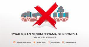 bukan syiah muslim pertama di indonesia