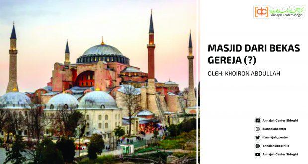 Masjid dari Bekas Gereja