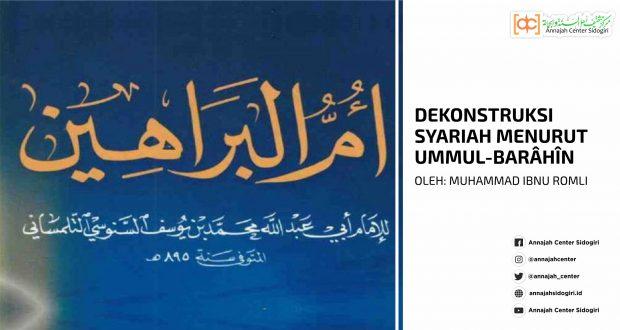 Dekonstruksi Syariah