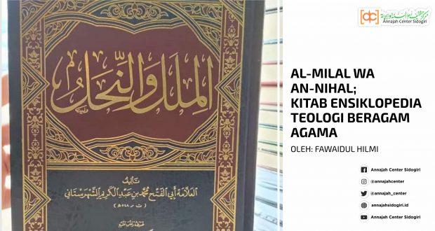 Al-Milal Wa An-Nihal; Kitab Ensiklopedia Teologi Beragam Agama