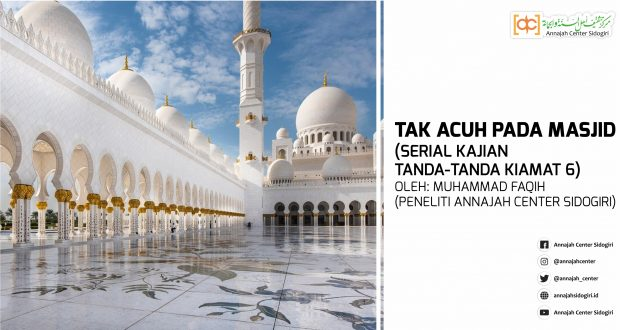 Tak Acuh Pada Masjid