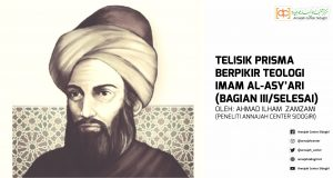Telisik Prisma Berpikir Teologi Imam Al-Asy'ari