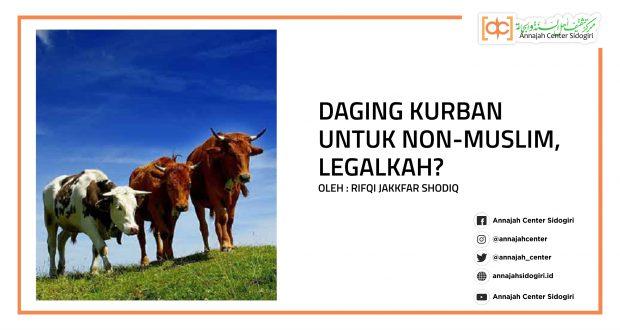 Daging Kurban Untuk Non-muslim, Legalkah?