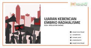 Ujaran Kebencian Embrio Radikalisme